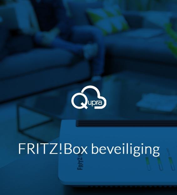 fritzbox beveiligen