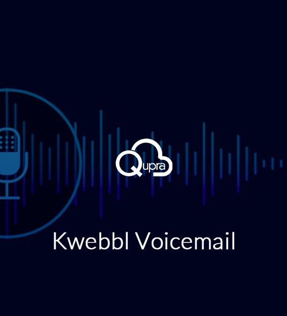 kwebbl voicemail